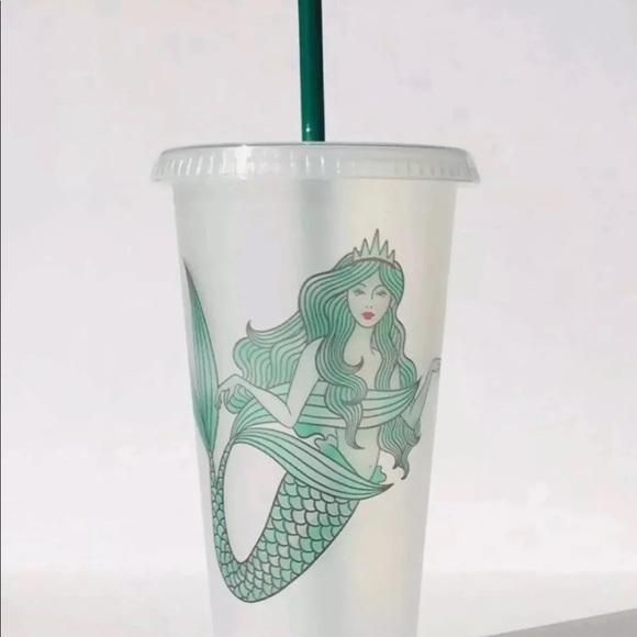 b0b379ef188 Starbucks Party Supplies | Tumbler Reusable Siren Mermaid Cold Cup ...
